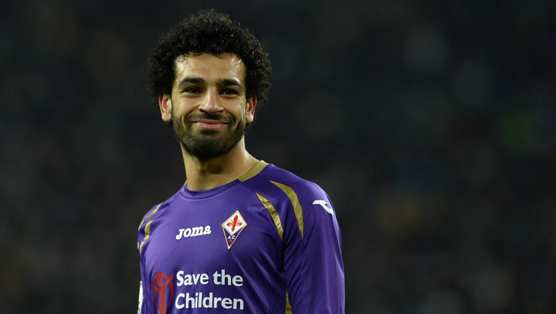 Salah, attaccante della Fiorentina in prestito dal Chelsea