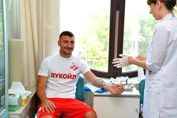 Salvatore Bocchetti, giocatore dello Spartak Mosca