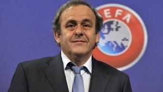 Michel Platini, presidente Uefa