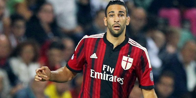 Adil Rami, difensore del Milan