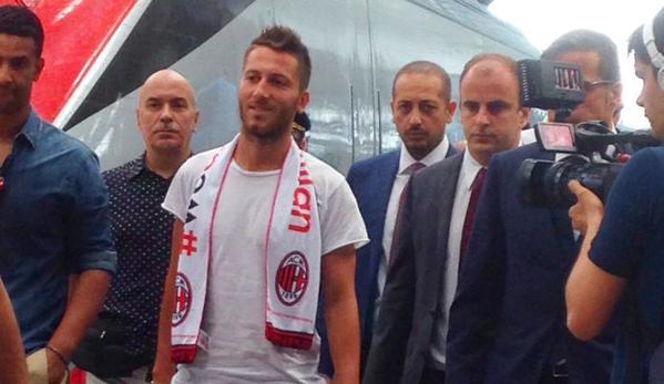 Andrea Bertolacci accolto a Milano