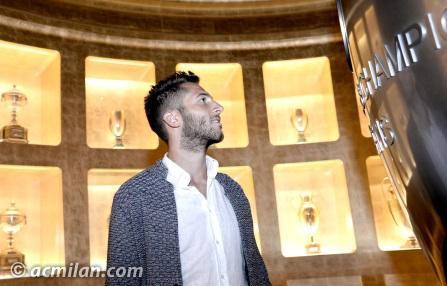 Andrea Bertolacci, nuovo giocatore del Milan