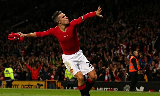 Robin Van Persie, attaccante in uscita dal Manchester United