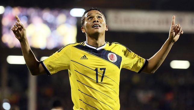Carlos Bacca, attaccante colombiano del Siviglia