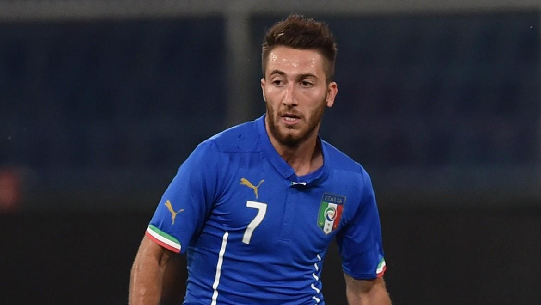 Andrea Bertolacci con la maglia della Nazionale