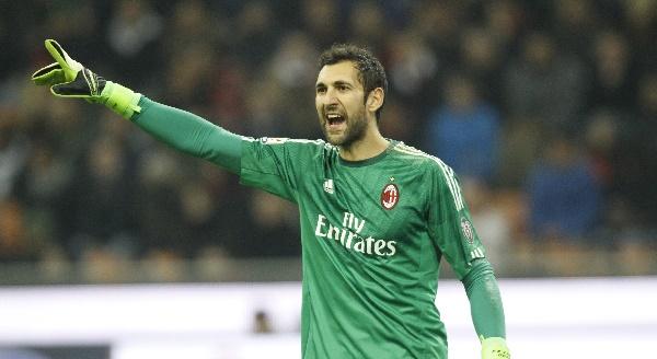 Diego Lopez, portiere del Milan