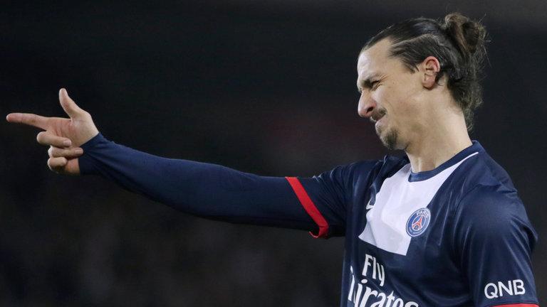 Ibrahimovic, attaccante del Psg