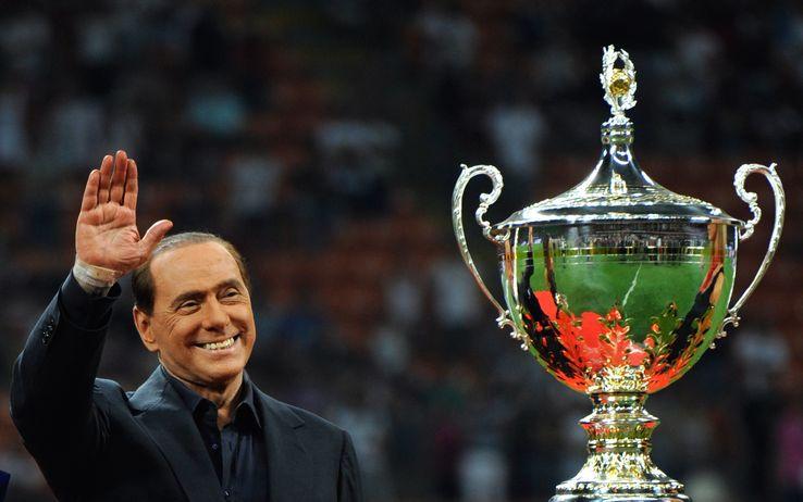 Berlusconi, presidente del Milan
