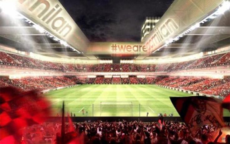 Progetto nuovo stadio Milan