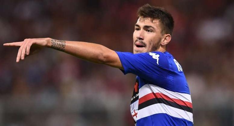 Alessio Romagnoli, difensore della Sampdoria