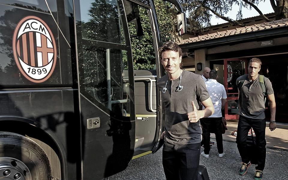 Riccardo Montolivo in partenza per la Cina