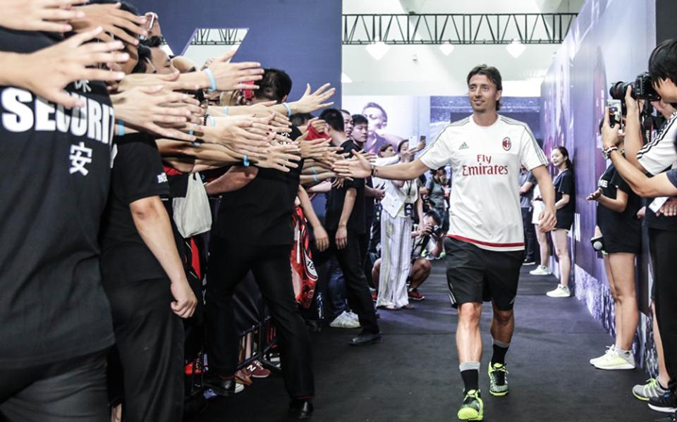 Riccardo Montolivo, centrocampista e capitano del Milan