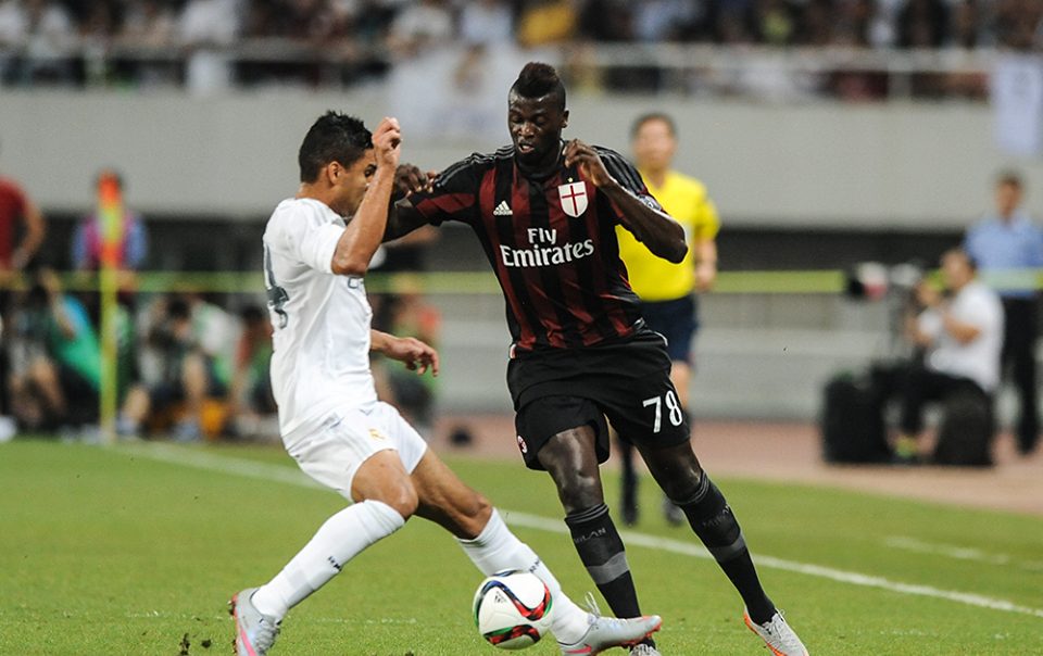 Niang in Real Madrid-Milan 10-9 d.c.r.