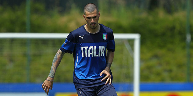 Alessio Romagnoli, difensore dell'Under 21