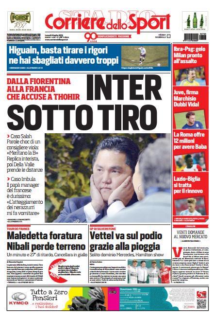 Corriere dello Sport | 6 luglio 2015