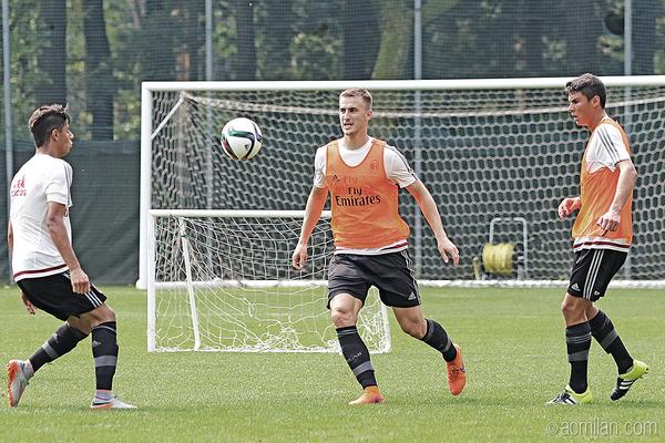 Rodrigo Ely in allenamento