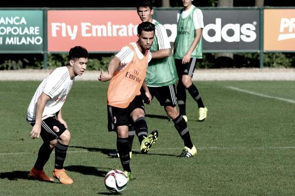 José Mauri e Suso in allenamento