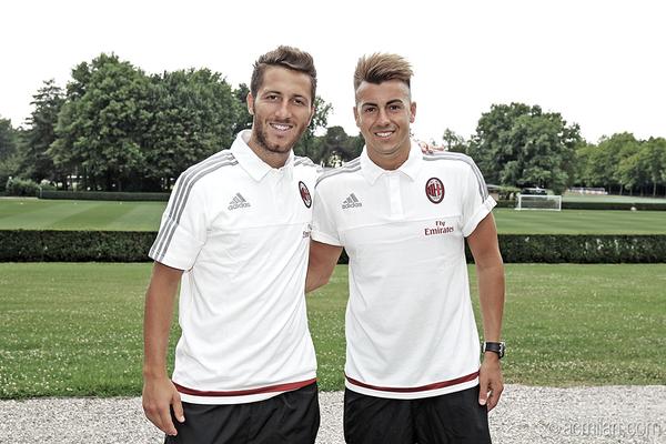 Bertolacci ed El Shaarawy