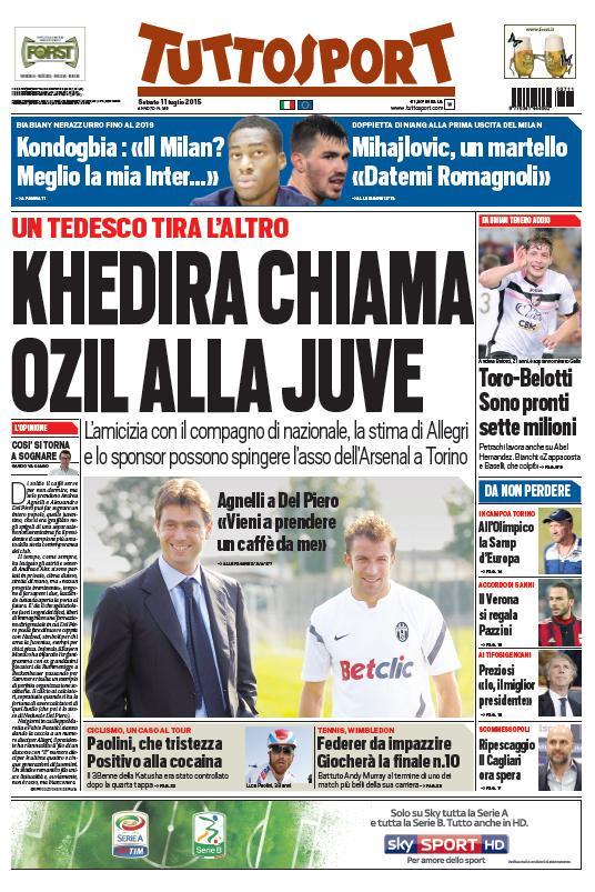 Tuttosport | 11 luglio 2015