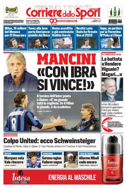 Corriere dello Sport | 12 luglio 2015