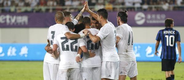 International Champions Cup: Inter battuta anche dal Real Madrid