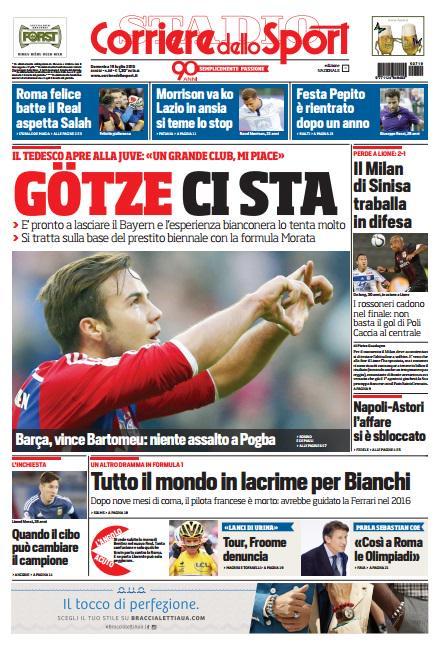 Corriere dello Sport | 19 luglio 2015