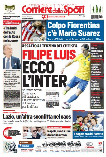 Corriere dello Sport | 20 luglio 2015