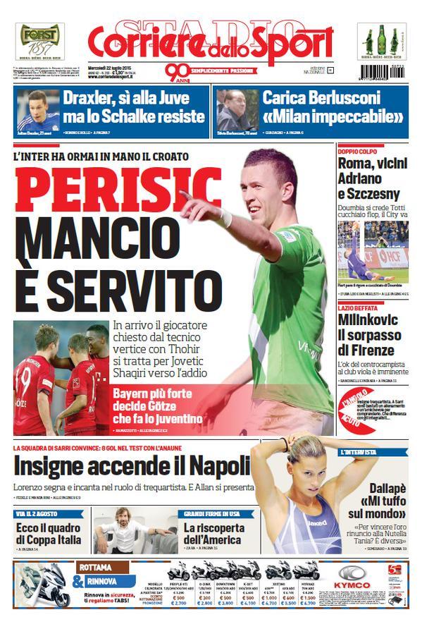 Corriere dello Sport | 22 luglio 2015