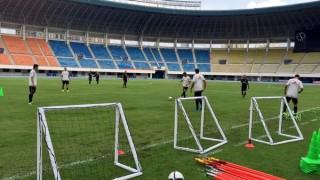 Allenamento del Milan a Shenzhen, alla vigilia del derby