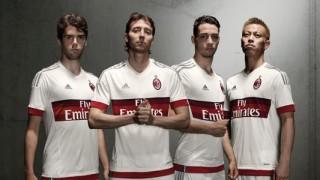 Il Milan presenta la maglia da trasferta