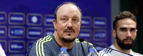 Rafa Benitez, tecnico del Real Madrid