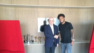 Adriano Galliani e Luiz Adriano