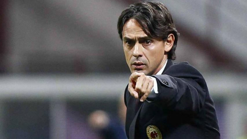 Inzaghi, ex tecnico del Milan