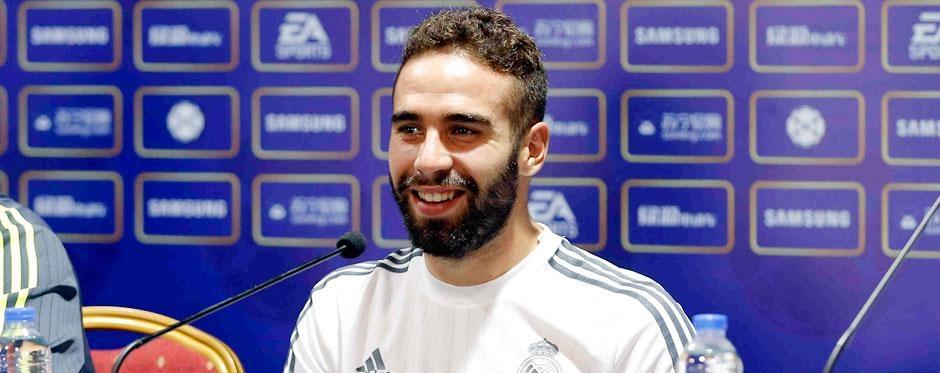 Carvajal, terzino del Real Madrid