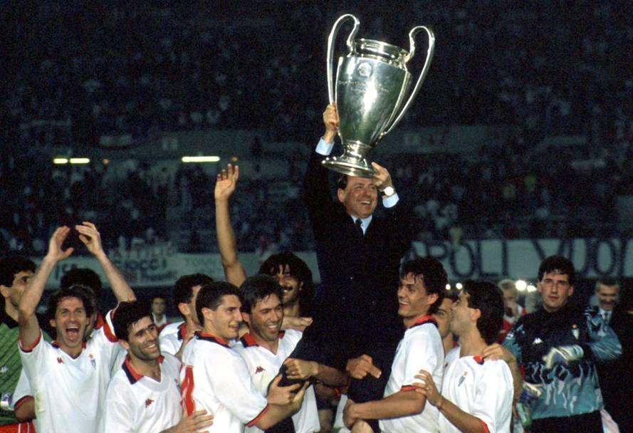 Il Milan di Sacchi campione d'Europa