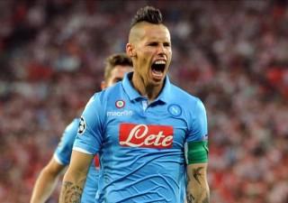 Marek Hamsik, capitano del Napoli