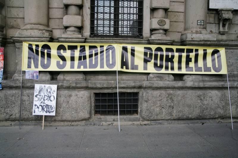 """Comitato """"No stadio al Portello"""""""