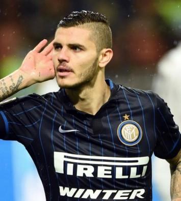 Icardi, attaccante del'Inter