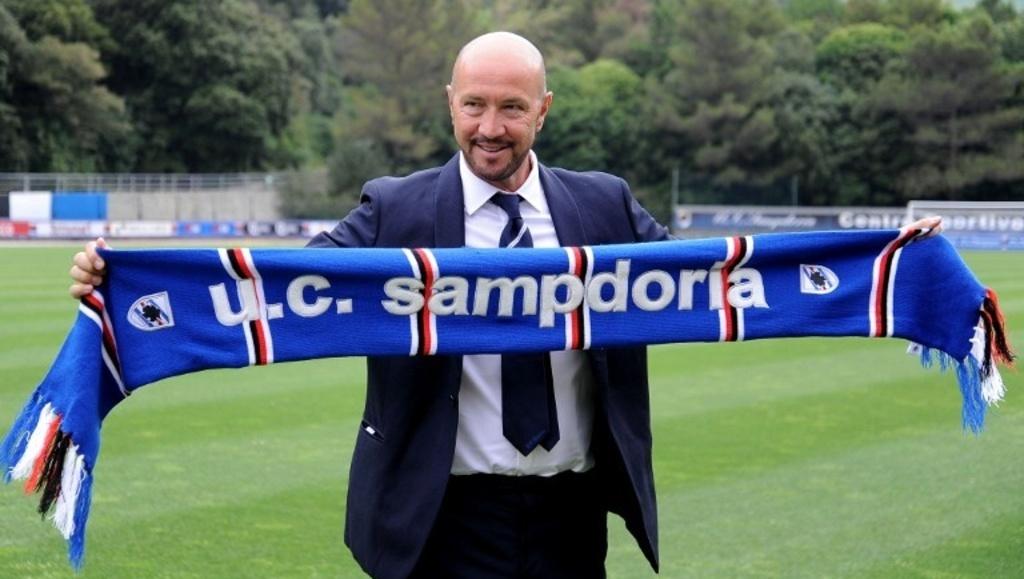 Walter Zenga, tecnico della Sampdoria