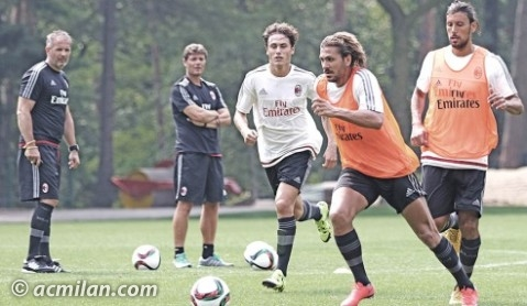 Alessio Cerci in allenamento