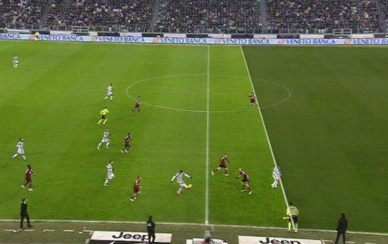 Prospettiva gol Tevez in Juventus-Milan