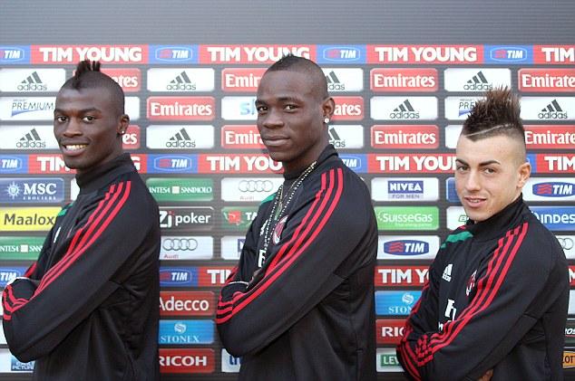 Niang, Balotelli ed El Shaarawy