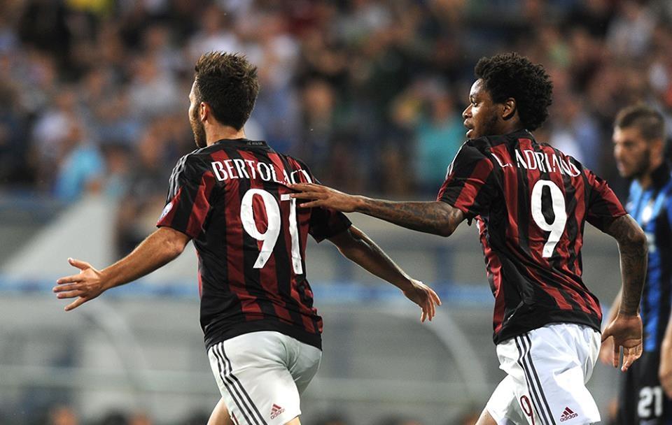 Andrea Bertolacci in Milan-Inter 2-1, Trofeo TIM
