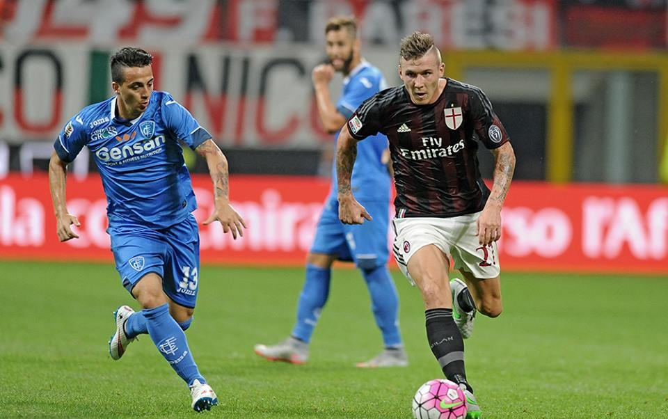 Kucka in Milan-Empoli 2-1