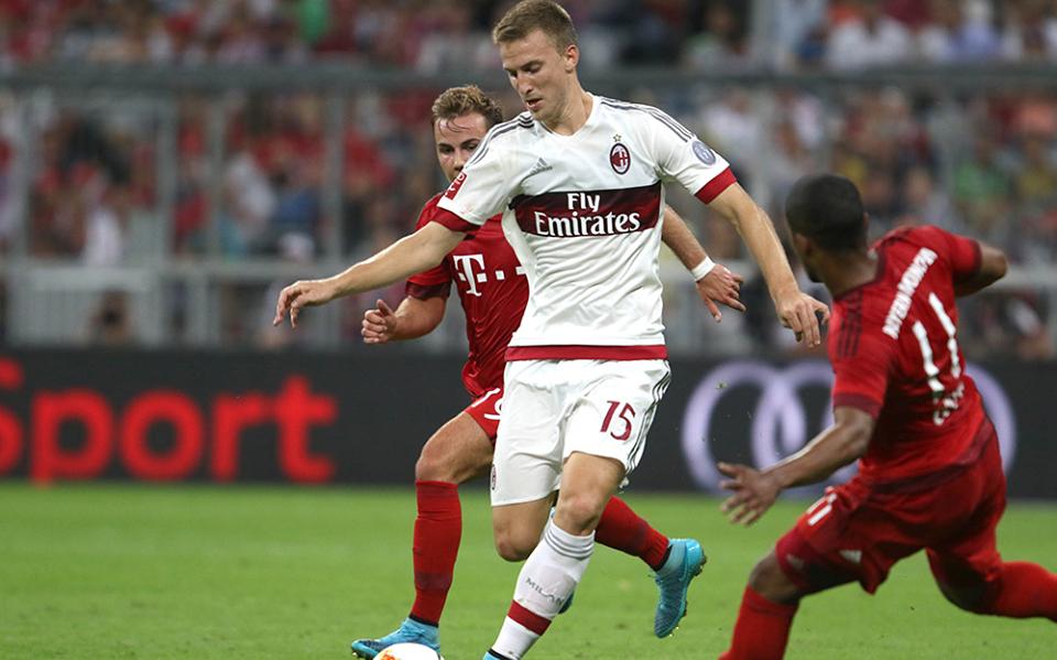 Rodrigo Ely in Bayern-Milan 3-0, Audi Cup