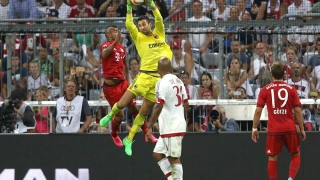 Diego Lopez in Bayern Monaco-Milan 3-0, Audi Cup