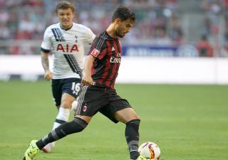 Suso in Tottenham-Milan 2-0, Audi Cup
