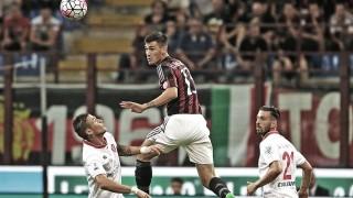 Alessio Romagnoli in Milan-Perugia 2-0, TIM Cup