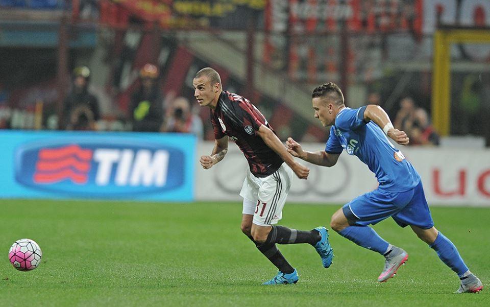Antonelli in Milan-Empoli 2-1