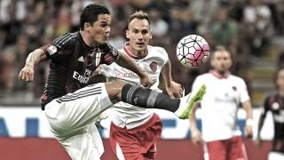 Carlos Bacca in Milan-Perugia 2-0, TIM Cup